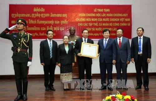 Vicepremier vietnamita ensalza vínculos tradicionales de amistad con Laos