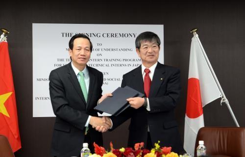 Vietnam y Japón impulsan cooperación laboral