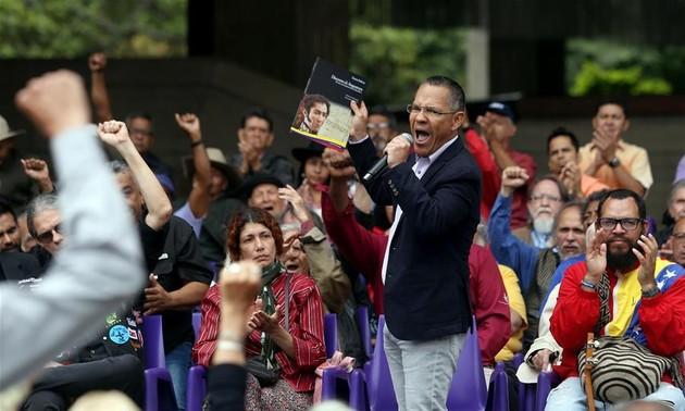 Lanzan en Caracas campaña internacional de solidaridad con Venezuela