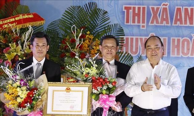 Localidad de Binh Dinh cumple los requisitos de la nueva ruralidad