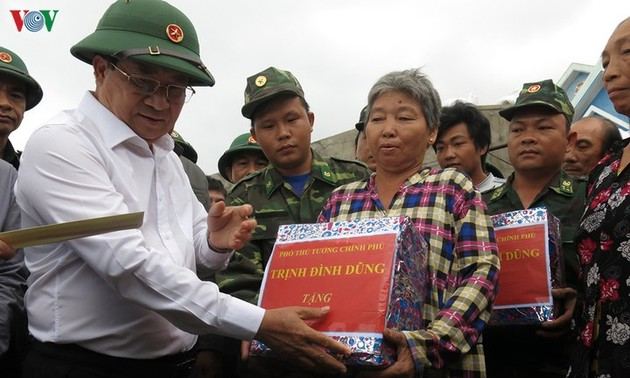 Revisan preparativos para prevenir el huracán Nakri en centro de Vietnam