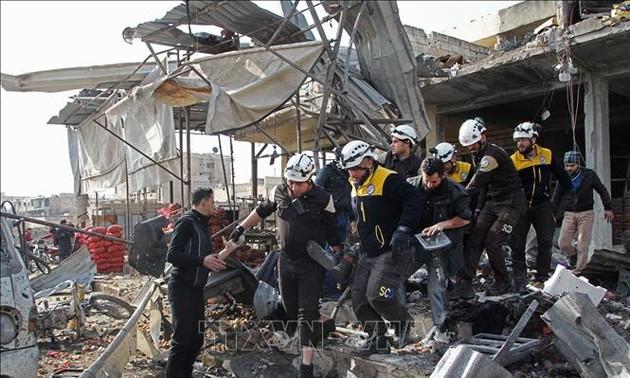 Rusia, Turquía e Irán, preocupados por la presencia de grupos terroristas en Siria