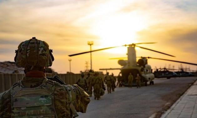 Fuerzas armadas iraquíes asumen gestión de la base militar al-Qaim de la mano de Estados Unidos