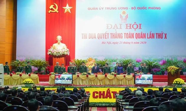 Encomian los movimientos de emulación en las fuerzas armadas de Vietnam