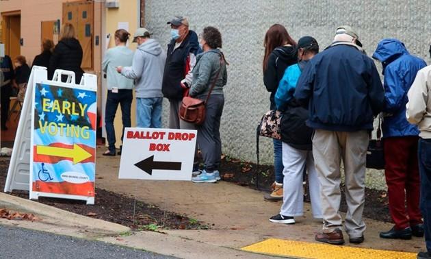 Más de 90 millones de estadounidenses han votado de forma anticipada