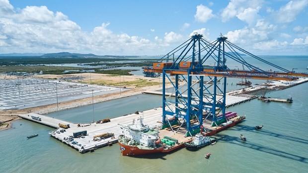 El puerto internacional de Germalink en Ba Ria-Vung Tau entra en funcionamiento