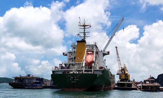 Quang Ninh: mejora en la infraestructura para impulsar la economía marítima
