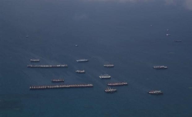 La comunidad internacional critica las actividades ilegales de China en el Mar del Este
