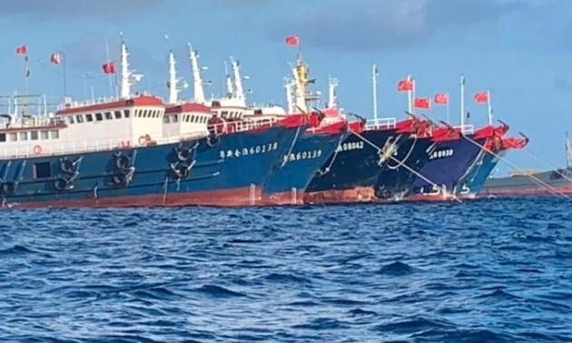 Filipinas se opone a la presencia de barcos chinos en territorios en disputa