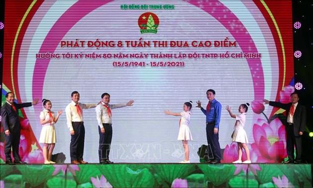 Celebran el 80 aniversario de la fundación de la Organización de Pioneros Ho Chi Minh