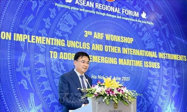 Vietnam insiste en la importancia del respeto del Derecho del Mar