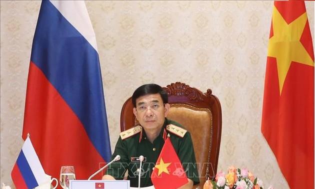 Vietnam y Rusia impulsan la cooperación en defensa