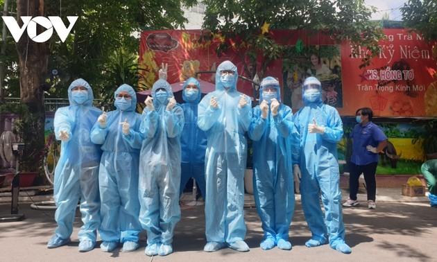 Futuros médicos se unen a las fuerzas de combate contra el covid-19