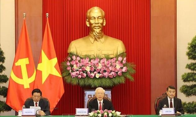 Discurso de Nguyen Phu Trong en Cumbre virtual del Partido Comunista de China y otras fuerzas