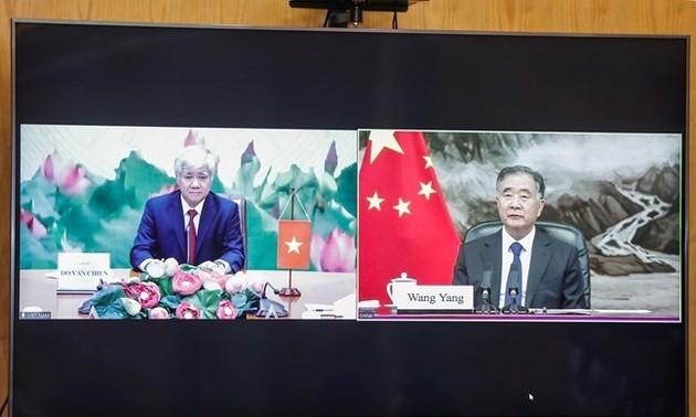 Vietnam y China buscan fortalecer el intercambio entre sus organizaciones de masas
