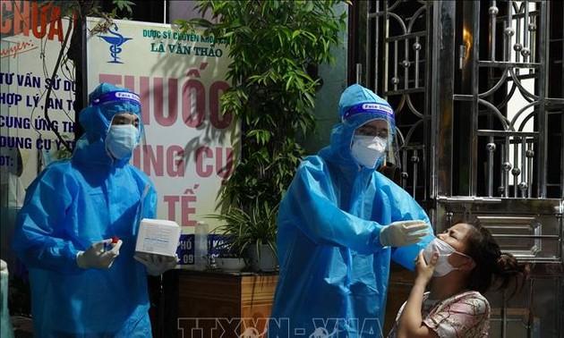 Covid-19 en Vietnam: más de 11 mil casos nuevos y cerca de 12 mil recuperados adicionales