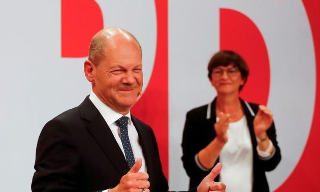 Elecciones federales de Alemania: Ganan los socialdemócratas