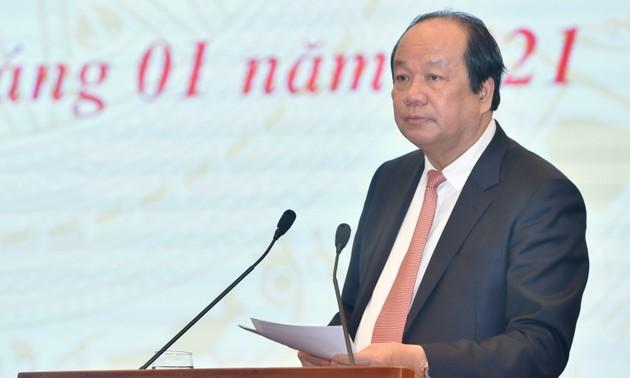 Deux résolutions sur le développement socio-économique et l'amélioration de l'environnement des affaires