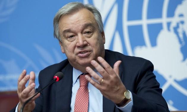 Le chef de l'ONU demande des efforts pour réduire les inégalités et l'injustice