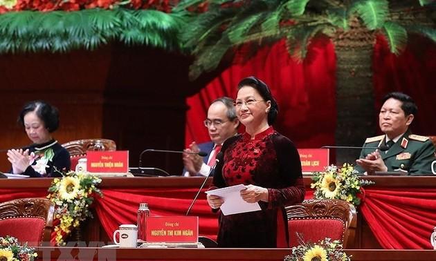 13e Congrès du Parti : félicitations des partis politiques, organisations et amis internationaux
