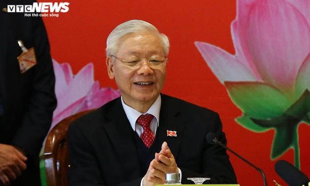 Messages de félicitations des dirigeants du monde à Nguyên Phu Trong