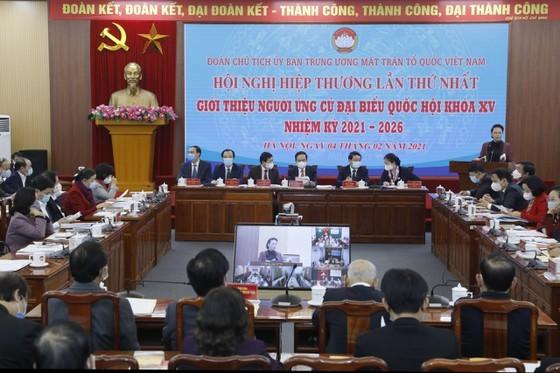 Première conférence consultative pour les élections à l'Assemblée nationale et aux conseils populaires