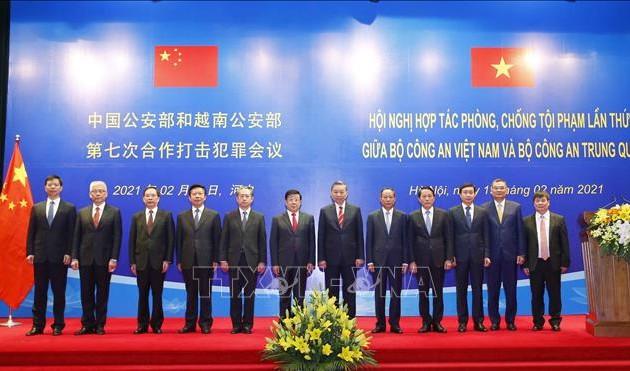 7e conférence sino-vietnamienne sur la lutte contre la criminalité