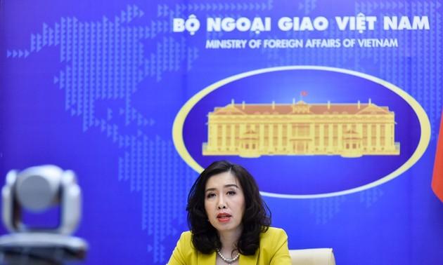 Mer Orientale: le Vietnam appelle à la responsabilité internationale