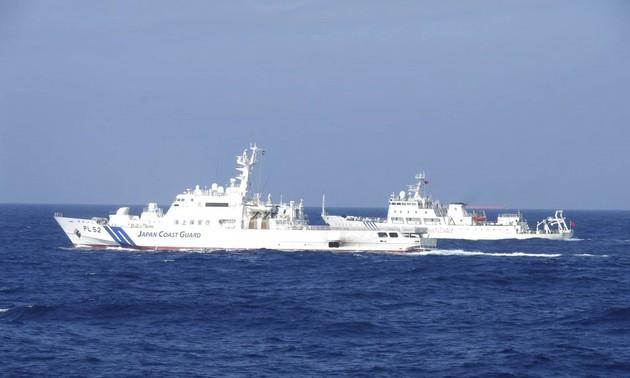 Le Japon s'inquiète de la montée des activités chinoises en Mer de Chine orientale