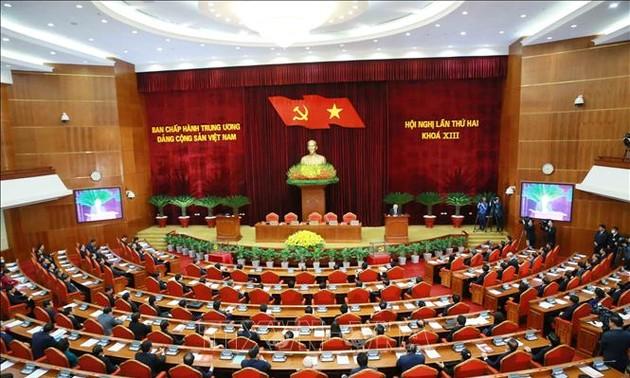 Clôture du 2e plénum du Comité central du Parti communiste du Vietnam, 13e exercice