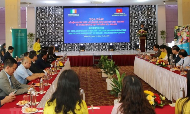 Quang Tri: des aides irlandaises