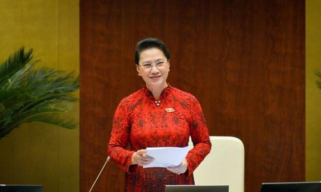 Nguyên Thi Kim Ngân relevée de ses fonctions de présidente de l'Assemblée nationale et du Conseil électoral national
