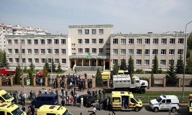 Russie: une fusillade dans une école à Kazan fait plusieurs morts