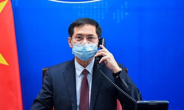 Entretien téléphonique Bui Thanh Son – Heiko Maas