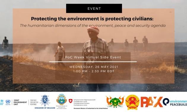 Le Vietnam co-organise une discussion sur la protection environnementale lors des conflits civils