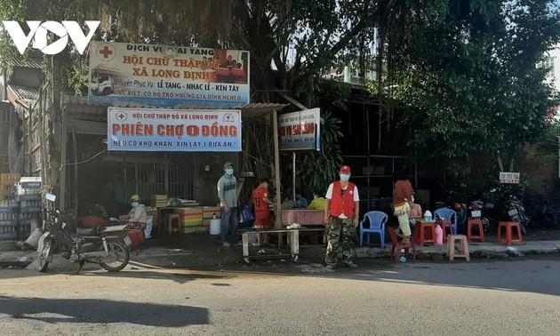 Un marché unique à Tiên Giang