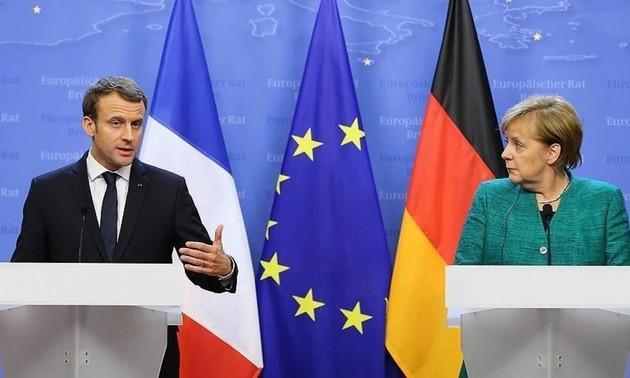 Visioconférence entre Emmanuel Macron, Angela Merkel et Xi Jinping pour faire baisser les tensions