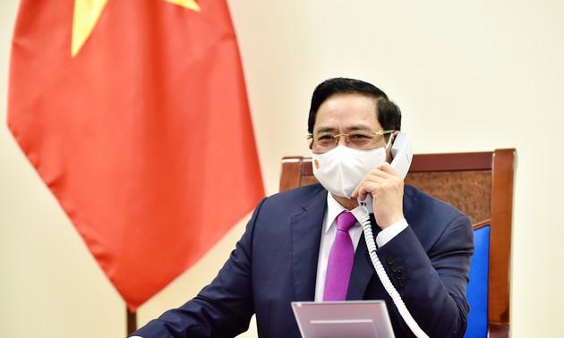 Vietnam-Israël : entretien entre Pham Minh Chinh et Naftali Bennett