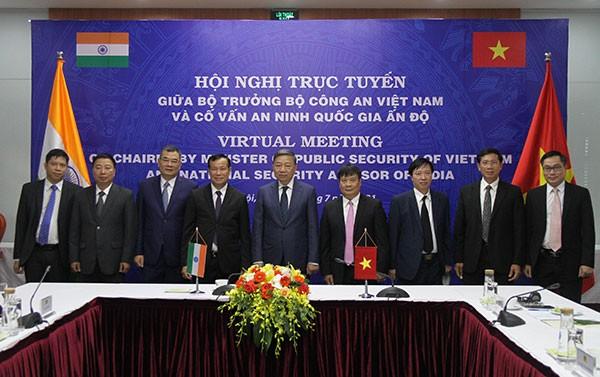 Promouvoir la coopération entre le ministère vietnamien de la Sécurité publique et le conseil indien de la Sécurité nationale