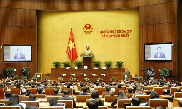 15e législature: Ouverture de la première session