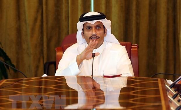 Le ministre des Affaires étrangères du Qatar entame une visite inopinée en Iran