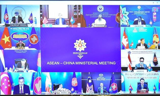 L'ASEAN et la Chine pour un environnement pacifique et stable dans la région