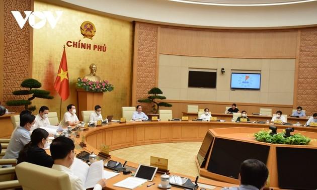Pham Minh Chinh: Le gouvernement doit s'impliquer dans l'édification d'une démocratie socialiste