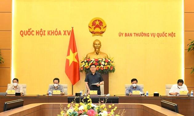 Ouverture de la 2e session du comité permanent de l'Assemblée nationale
