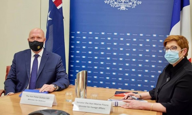 L'Australie et la France sont préoccupées par la situation en mer Orientale