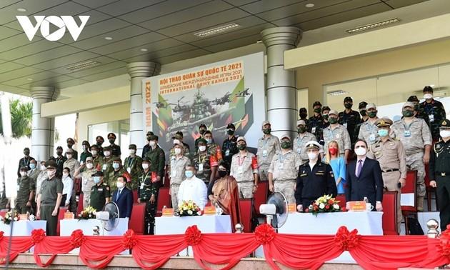 Ouverture des Jeux militaires internationaux au Vietnam