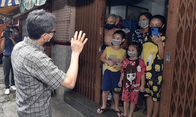 Vu Duc Dam: prendre soin des patients Covid chez eux