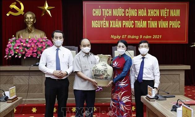 Nguyên Xuân Phuc appelle Vinh Phuc à former des ressources humaines dans le domaine scientifico-technologique