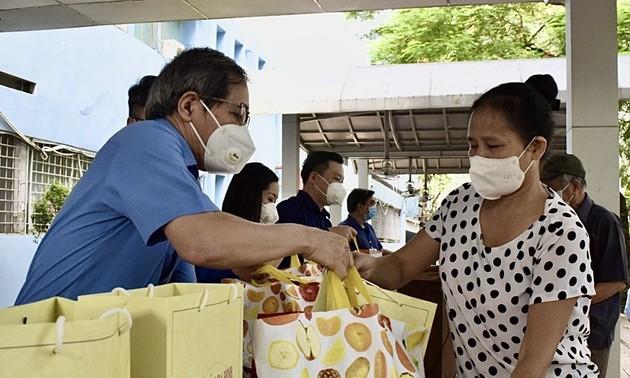 Covid-19 : Plus de 2,6 millions de Vietnamiens bénéficient d'une aide sociale