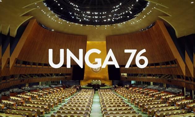 Nguyên Xuân Phuc à la 76e Assemblée générale de l'ONU